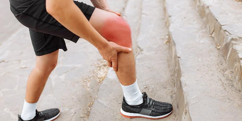 obrzęk kolana