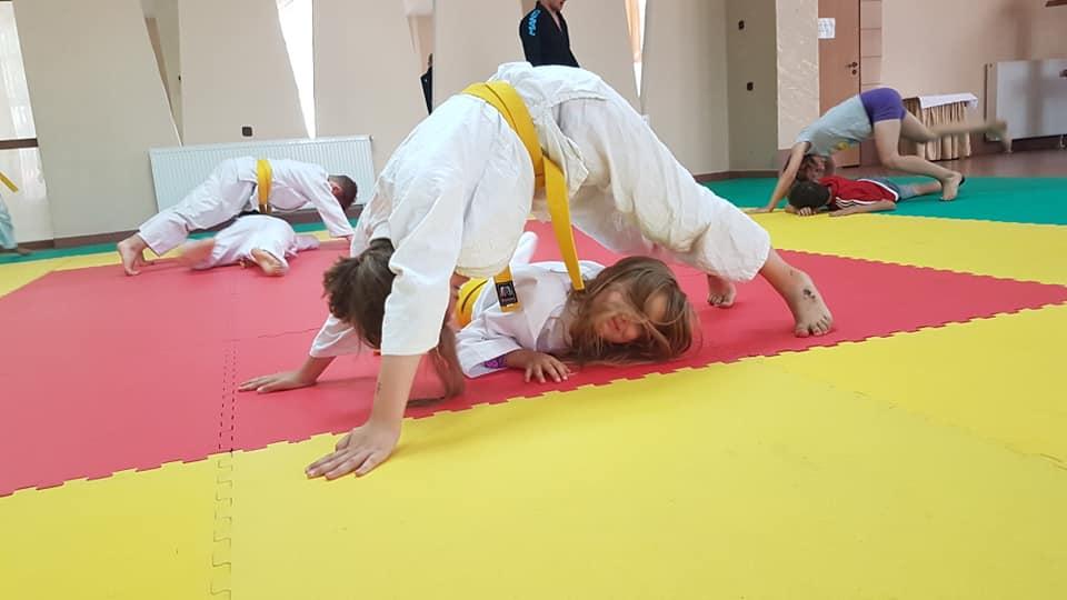 trening judo2 - Trening judo wspiera rozwój narządu ruchu dziecka