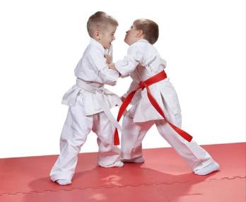 trening judo3 - Trening judo wspiera rozwój narządu ruchu dziecka